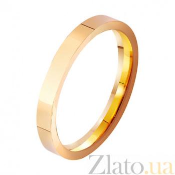 Золотое обручальное кольцо  Символ брака TRF--411927
