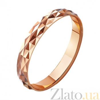 Золотое обручальное кольцо Волшебный мир  TRF--411161