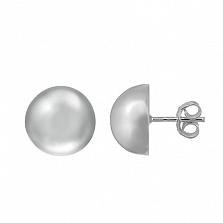 Серебряные серьги Тейя мини