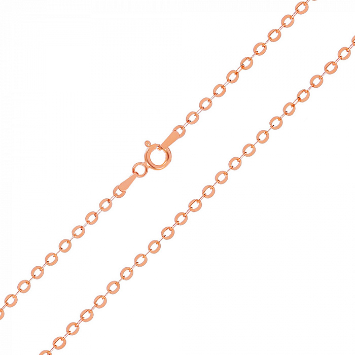 Серебряная цепь Эксетер с позолотой, 2,5 мм 000030845