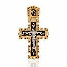 Эксклюзивный мужской крест Рожденные для счастья