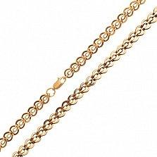 Золотая цепочка Сердце красавицы