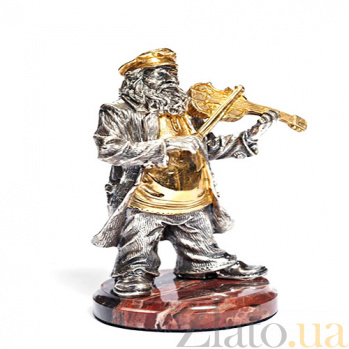 Серебряная статуэтка Скрипач 1347