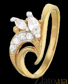 Кольцо из серебра с цирконием Доминга 000025594