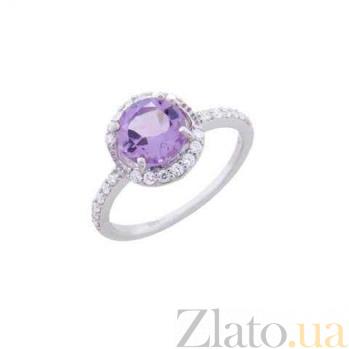 Серебряное кольцо с аметистом Фиолент AQA--R01294Am