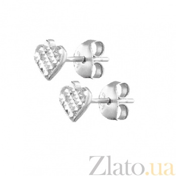 Серебряные сережки Пики SLX--С2/376