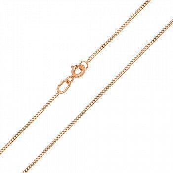 Цепочка из красного золота в панцирном плетении 000126555
