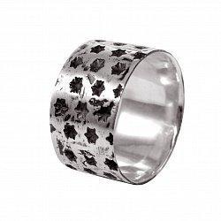Кольцо из серебра Fatum с чернением 000091350
