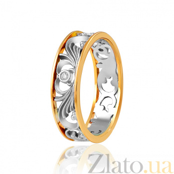 Золотое кольцо с бриллиантами Амалия EDM--КД7518/2