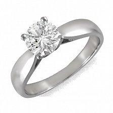 Кольцо из белого золота Беатриче с бриллиантом