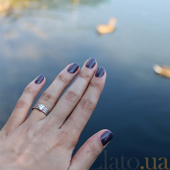 Серебряное кольцо Гофре Гофре