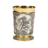 Серебряный стакан Старый охотник