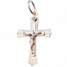Золотой крестик Протект