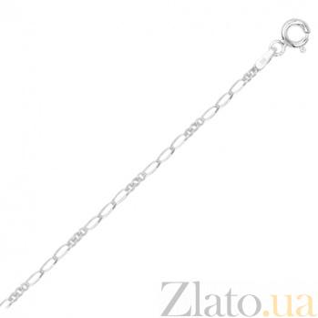 Серебряный браслет Беатриче с родированием, 19 см 000027421