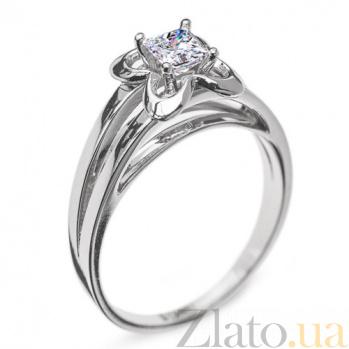 Золотое кольцо с бриллиантом Дионисия R 0357