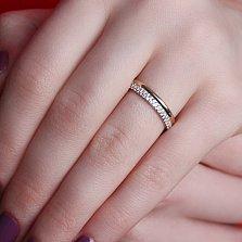 Золотое кольцо Вирида с фианитами