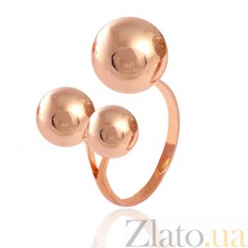Позолоченное серебряное кольцо Триумф стиля 000028174