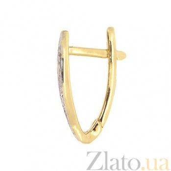Серьги-трансформеры желтого золота с бриллиантами Петра ZMX--ED-6785y_K