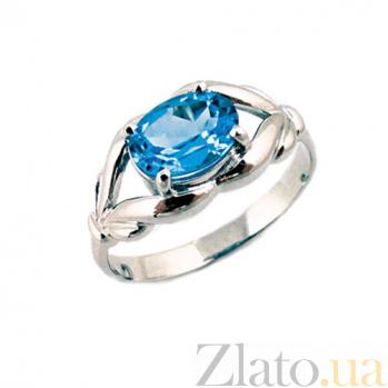 Золотое кольцо в белом цвете с топазом Деметра ZMX--RT-6599w_K