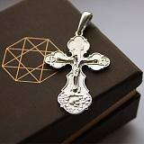 Серебряный крест Небесный покровитель