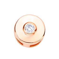 Золотая подвеска Ильда с бриллиантом