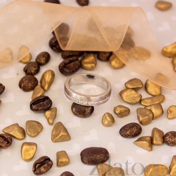 Кольцо из серебра Светлый Путь с фианитами 000030980
