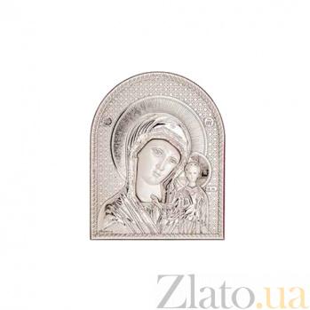 Серебряная икона Казанской Божьей Матери AQA--08132221
