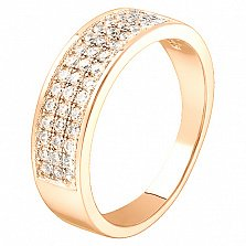 Золотое кольцо с бриллиантами Орленда