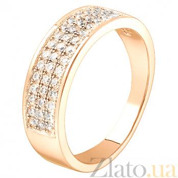 Золотое кольцо с бриллиантами Орленда R 0417/крас