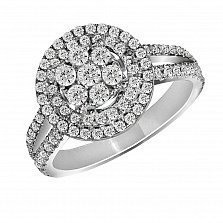 Золотое кольцо Белинда с бриллиантами