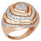 Кольцо из красного золота Розалинда VLT--Т141-2