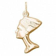 Серебряный подвес Любовь Фараона с позолотой