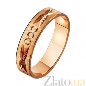 Золотое обручальное кольцо Афина TRF--411070