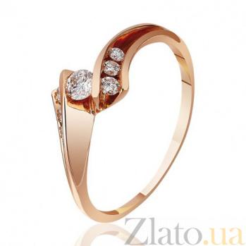 Золотое кольцо с бриллиантами Жардин EDM-КД7512