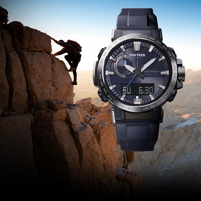 Часы наручные Casio Pro trek PRW-60-2AER 000087439