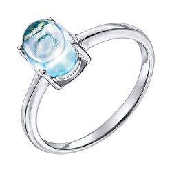 Серебряное кольцо с топазом 000137409