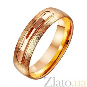 Золотое обручальное кольцо Любовный пыл TRF--411230