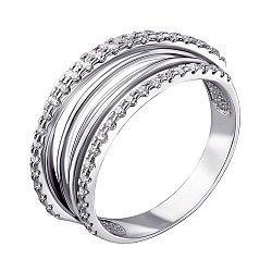 Серебряное кольцо с цирконием 000140777