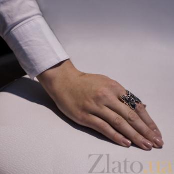 Серебряное кольцо Бабочка AUR--71082*