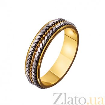 Золотое обручальное кольцо Узы любви TRF--4411609