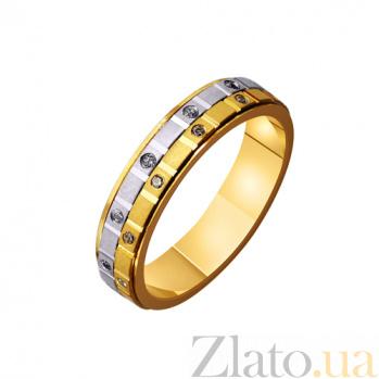 Золотое обручальное кольцо Родственные души TRF--4421545