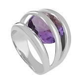 Золотое кольцо с аметистом Сюрприз