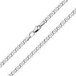 Серебряная цепь в плетении бисмарк, 2,5 мм 000118281