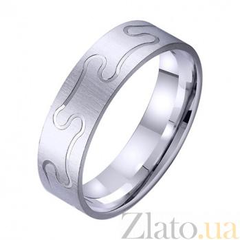 Золотое обручальное кольцо Праздник сердца TRF--4211760