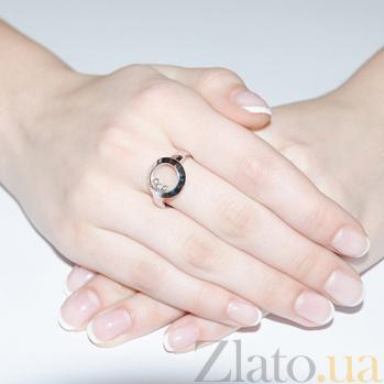 Кольцо из белого золота Love 230913 к