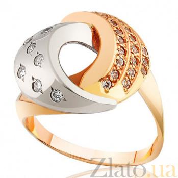 Кольцо с цирконием Гламурный шик EDM--КД0201