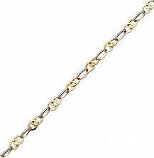 Золотая цепочка в комбинированном цвете Аромат осени
