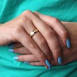 Золотое обручальное кольцо Сихам