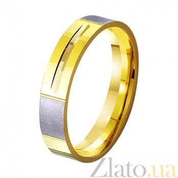 Золотое обручальное кольцо Веление сердца TRF--431370