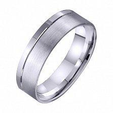 Золотое обручальное кольцо Чистый источник
